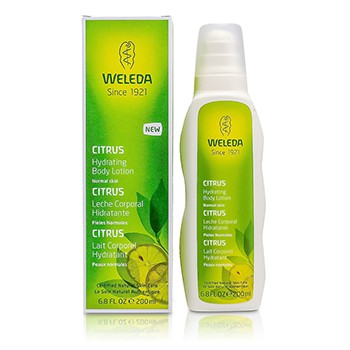 Weleda Citrus Hydrating Body Lotion For Normal Skin