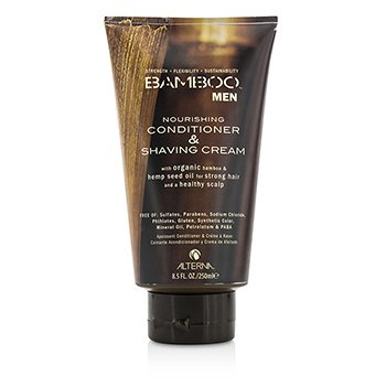Alterna Bamboo Men Nourishing Conditioner & Shaving Cream