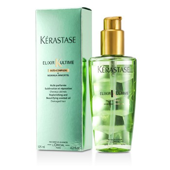 Kerastase Elixir Ultime Oleo-Complexe Moringa Immortel Replenishing and Beautifying Scented Oil (For Damaged Hair)