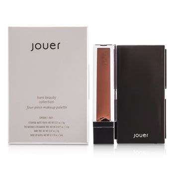 Jouer Bare Beauty Collection: 1x Matte Touch, 1x Eyeshadow Trio, 1x Bare Tint, 1x Lip Gloss