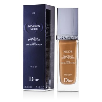Christian Dior Diorskin Nude Skin Glowing Makeup SPF 15 - # 030 Medium Beige