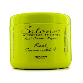 AlfaParf Salone The Legendary Collection Rigen Real Cream PH 4 Repair Mask (For Damaged Hair)