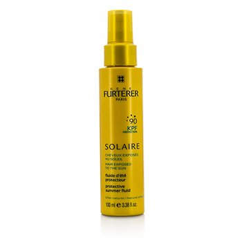 Rene Furterer Solaire Waterproof KPF 90 Protective Summer Fluid - Natural Effect (High Protection For Hair Exposed To The Sun)