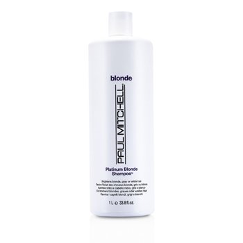 Paul Mitchell Blonde Platinum Blonde Shampoo (Brighten Blonde, Gray or White Hair)