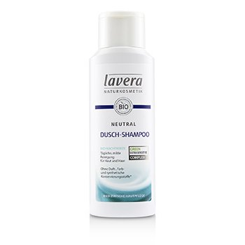 Lavera Neutral Shower Shampoo (For Skin and Hair)