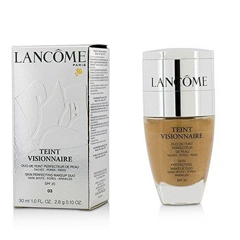 Lancome Teint Visionnaire Skin Perfecting Make Up Duo SPF 20 - # 03 Beige Diaphane
