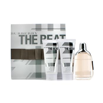 Burberry The Beat Coffret: Eau De Parfum Spray 75ml/2.5oz + Body Lotion 100ml/3.3oz + Shower Gel 100ml/3.3oz