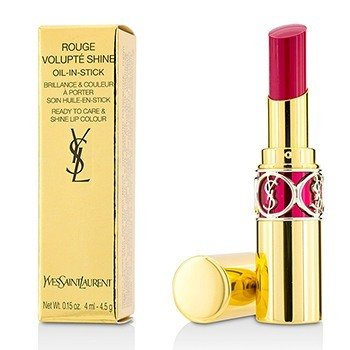 Yves Saint Laurent Rouge Volupte Shine - # 5 Fuchsia In Excess