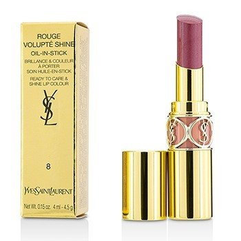 Yves Saint Laurent Rouge Volupte Shine - # 8 Pink In Confidence