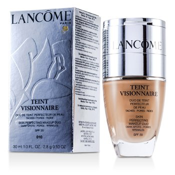 Lancome Teint Visionnaire Skin Perfecting Make Up Duo SPF 20 - # 010 Beige Porcelaine