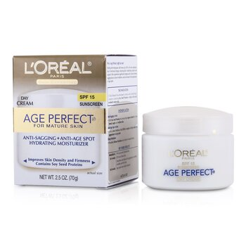 L'Oreal Skin-Expertise Age Perfect Hydrating Moisturizer SPF 15 (For Mature Skin)