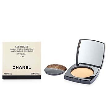 Chanel Les Beiges Healthy Glow Sheer Powder SPF 15 - No. 40