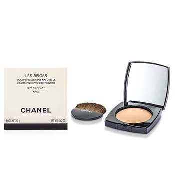Chanel Les Beiges Healthy Glow Sheer Powder SPF 15 - No. 50