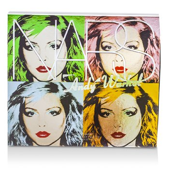 NARS Andy Warhol Collection Debbie Harry Eye And Cheek Palette (4x Eyeshadows, 2x Blushes)