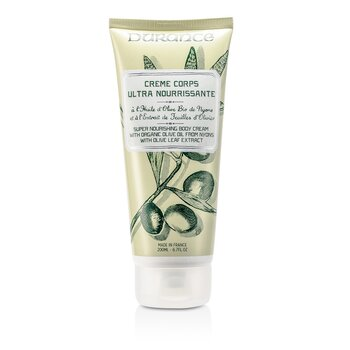 Durance Super Nourishing Body Cream with Olive Leaf Extract