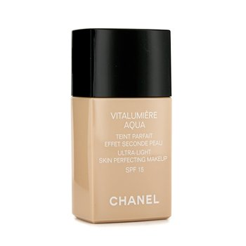 Chanel Vitalumiere Aqua Ultra Light Skin Perfecting Make Up SPF15 - # 30 Beige
