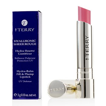 By Terry Hyaluronic Sheer Rouge Hydra Balm Fill & Plump Lipstick (UV Defense) - # 3 Baby Bloom