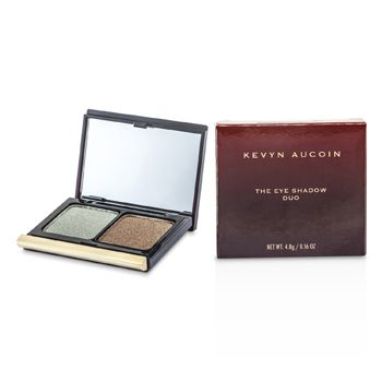Kevyn Aucoin The Eye Shadow Duo - # 208 Frosted Jade/ Bronzed