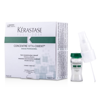 Kerastase Fusio-Dose Concentre Vita-Ciment Intensive Reconstructive Treatment (For Weakened Hair)