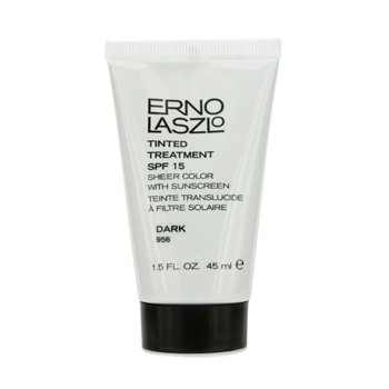 Erno Laszlo Tinted Treatment SPF15 (Sheer Color with Sunscreen) - # 956 Dark
