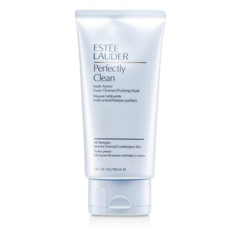 Estee Lauder Perfectly Clean Multi-Action Foam Cleanser/ Purifying Mask