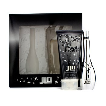 J. Lo Glow After Dark Coffret: Eau De Toilette Spray 50ml/1.7oz + Night Bright Body Lotion 200ml/6.7oz