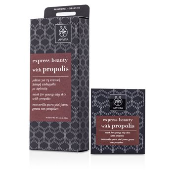 Apivita Express Beauty Mask For Young Oily Skin with Propolis