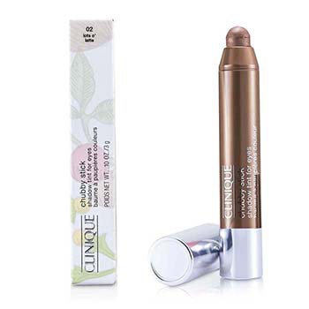 Clinique Chubby Stick Shadow Tint for Eyes - # 02 Lots O Latte