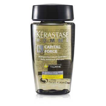 Kerastase Homme Capital Force Daily Treatment Shampoo (Vita-Energising Effect)