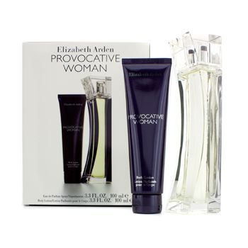 Elizabeth Arden Provocative Woman Coffret: Eau De Parfum Spray 100ml/3.3oz + Body Lotion 100ml/3.3oz