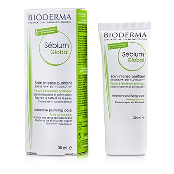 Bioderma Sebium Global Intensive Purifying Care (For Acne-Prone Skin)