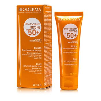 Bioderma Photoderm Bronz Very High Protection Fluid SPF50+ (For Sensitive Skin)