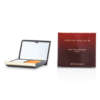 Kevyn Aucoin The Eye Shadow Duo - # 212 Soft Sky/ Tangerine