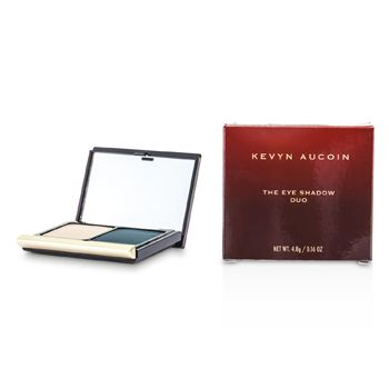 Kevyn Aucoin The Eye Shadow Duo - # 214 Pebble/ Smokey Teal