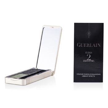 Guerlain Ecrin 2 Couleurs Colour Fusion Eyeshadows - # 01 Two Rock