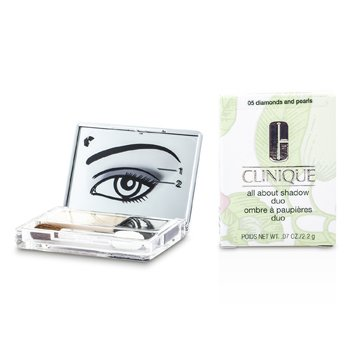 Clinique All About Shadow Duo - # 05 Diamonds and Pearls