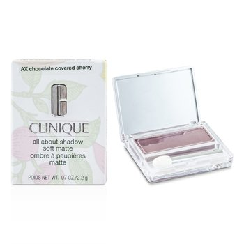 Clinique All About Shadow - # AX Chocolate Covered Cherry (Soft Matte)