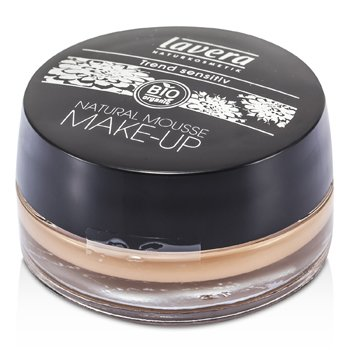 Lavera Natural Mousse Make Up Cream Foundation - # 03 Honey