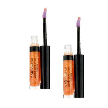 Max Factor Vibrant Curve Effect Lip Gloss Duo Pack - # 03 Trend-Setter