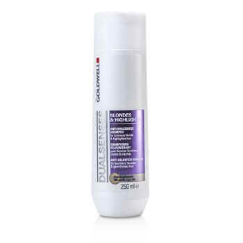 Goldwell Dual Senses Blondes & Highlights Anti-Brassiness Shampoo (For Luminous Blonde & Highlighted Hair)