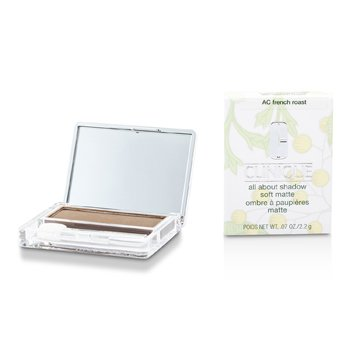 Clinique All About Shadow - # AC French Roast (Soft Matte)