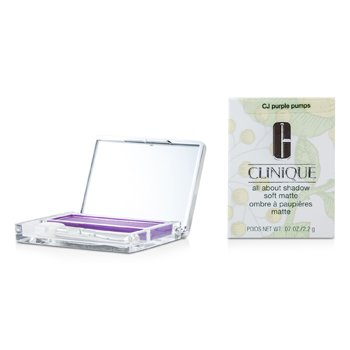 Clinique All About Shadow - # CJ Purple Pumps (Soft Matte)
