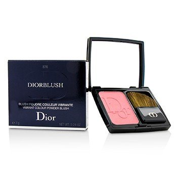 Christian Dior DiorBlush Vibrant Colour Powder Blush - # 876 Happy Cherry
