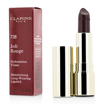 Clarins Joli Rouge (Long Wearing Moisturizing Lipstick) - # 738 Royal Plum
