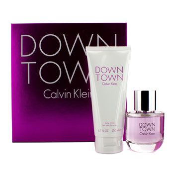 Calvin Klein Downtown Coffret: Eau De Parfum Spray 90ml/3oz + Body Lotion 200ml/6.7oz