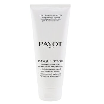 Payot Les Demaquillantes Masque D'Tox Detoxifying Radiance Mask - For Normal To Combination Skins (Salon Size)
