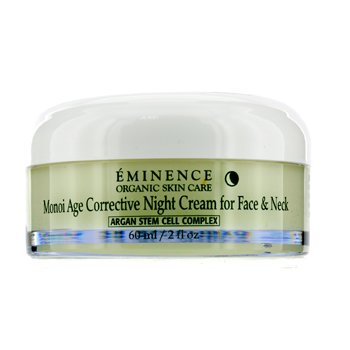 Eminence Monoi Age Corrective Night Cream for Face & Neck (Normal to Dry Skin, Especially Mature)