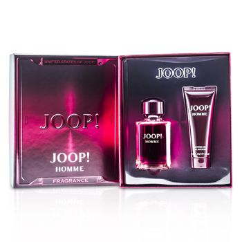 Joop Homme Coffret: Eau De Toilette Spary 75ml/2.5oz + Shower Gel 75ml/2.5oz (Red Box)