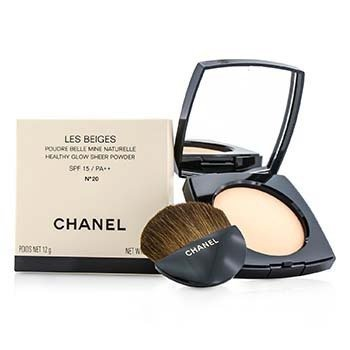 Chanel Les Beiges Healthy Glow Sheer Powder SPF 15 - No. 20