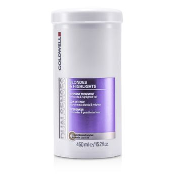 Goldwell Dual Senses Blondes & Highlights Intensive Treatment - For Blonde & Highlighted Hair (Salon Product)